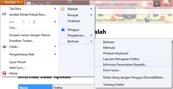 Reset Firefox 1